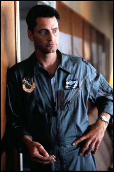 "As laconic pilot Chuck Yeager in ""The Right Stuff,"" 1983, for which he was nominated for an Academy Award"
