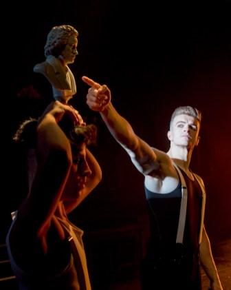 A Clockwork Orange 2 Aleksander Varadian and Jonno Davies in A Clockwork Orange (c) Caitlin McNaney