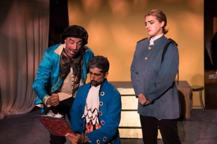 """Keeper and Company: Oscar Castillo, Iftiaz Haroon, Zoe Raphael from """"Androboros"""""""