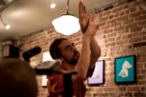 Jonathan dancing