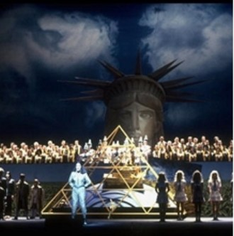 The Voyage, by Philip Glass and David Henry Hwang, at the Metropolitan Opera in 1992, the 500th anniversary of Columbus's New World expedition.