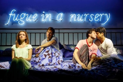 Roxanna Hope Radja, Ward Horton, Michael Urie and Michael Rosen