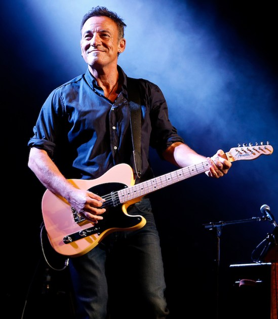 Springsteen in Springsteen on Broadway