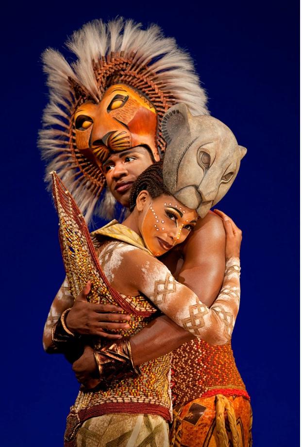 Simba and Nala, from The Lion King