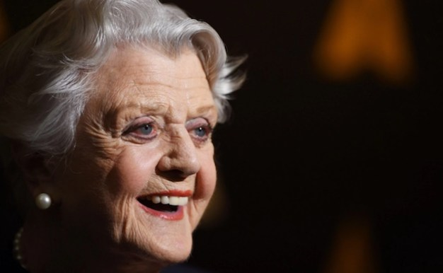 Angela Lansbury close up