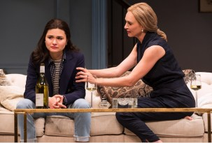 Phillipa Soo and Uma Thurman