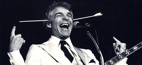 SteveMartin arrow through head