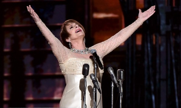 Patti LuPone at the Grammys
