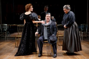 Marin Mazzie, Douglas Hodge, Marsha Mason in Fire and Ice,