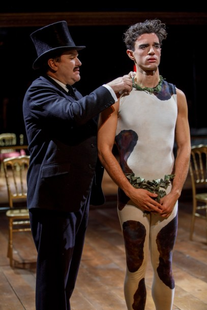 Douglas Hodge and James Cusati-Moyer as Diaghilev and Nijinsky