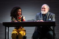 Pascale Armand and Richard Masur
