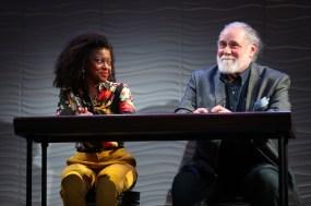 Pascale Armand and Richard Masur