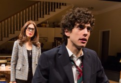 Jessica Hecht and Ben Edelman in Admissions