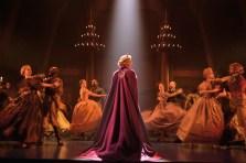 Frozen 2 Caissie Levy (Elsa) and the Company of FROZEN on Broadway - Waltz. Photo by Deen van Meer