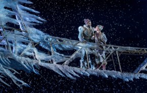 Frozen 7 Jelani Alladin (Kristoff) and Patti Murin (Anna) in FROZEN on Broadway. Photo by Deen van Meer
