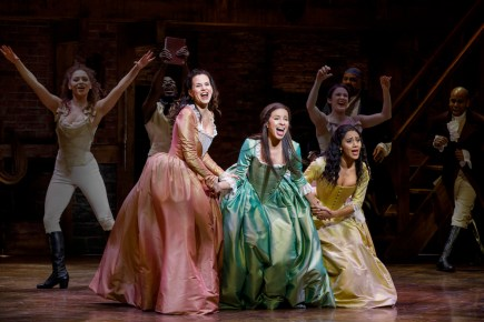 Mandy Gonzalez, Lexi Lawson and Joanna A. Jones