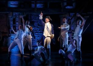 Bryan Terrell Clark is the new George Washington in Hamilton on Broadway
