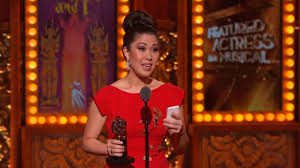 Ruthie Ann Miles getting Tony