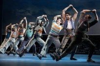 "Amar Ramasar and company in ""Blow High, Blow Low."" in Carousel"