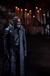 """Norm Lewis as Caiaphas (""""This Jesus Must Die"""")"""