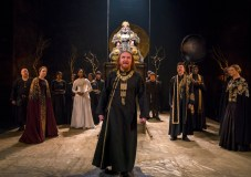 Photo: ANTONY BYRNE (front at Center) & ANTONY SHER in KING LEAR Royal Shakespeare Company By William Shakespeare Directed by Gregory Doran; dress rehearsal photographed: Saturday, April 7, 2018; 1:30 PM at the BAM Harvey Theater; Brooklyn Academy of Music, NYC; Photograph: © 2018 Richard Termine/BAM PHOTO CREDIT - Richard Termine