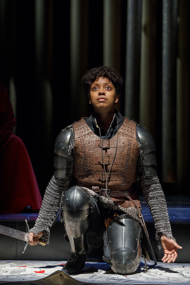 Condola Rashad as Saint Joan