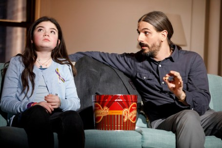 Ella Kennedy Davis as Julie and Lucas Papaelias as
