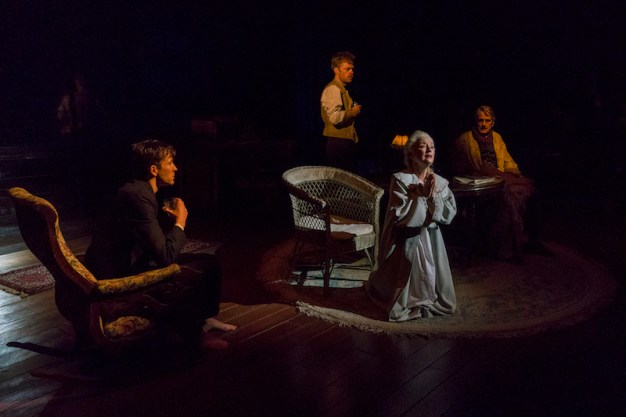Matthew Beard; Rory Keenan, Jeremy Irons and Lesley Manville in Long Day's Journey Into Night at Brooklyn Academy of Music