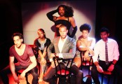 Cast of Le Blanc, at The Pit