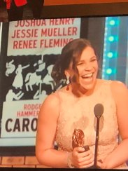 "5. ""When I moved to NYC, I was told to change my last name from Mendez to Matthew so that I could get work. I'm so proud to be part of a community that celebrates diversity and individuality...""- Lindsay Mendez, in her Tony acceptance speech"