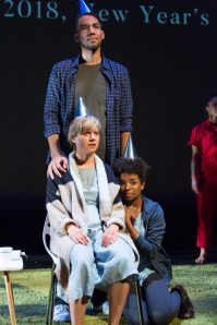 10 - Trish Lindstrom, Jonathan Christopher and Alexis Floyd in If Sand Were Stone