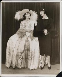 "Fanny Brice and Albert Carroll (as Fanny Brice) in ""Grand Street Follies"" 1929"