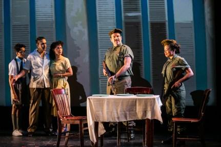 Pedro Pan 3 The Comité guards interrogate Pedro's family