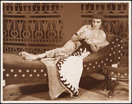 """Tallulah Bankhead in """"Antony and Cleopatra"""" 1937"""
