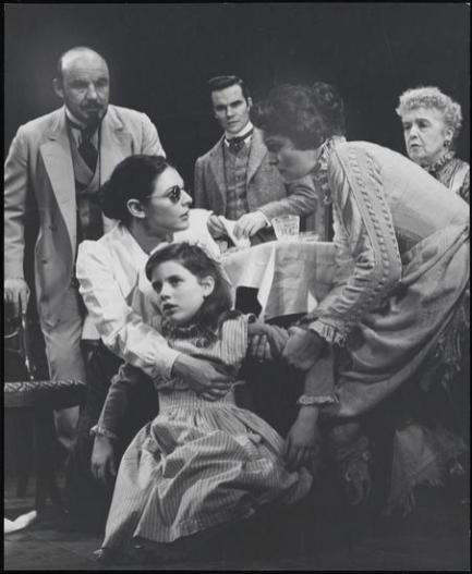 Anne Bancroft, Patty Duke ,Patricia Neal et al in The Miracle Worker, 1959-61