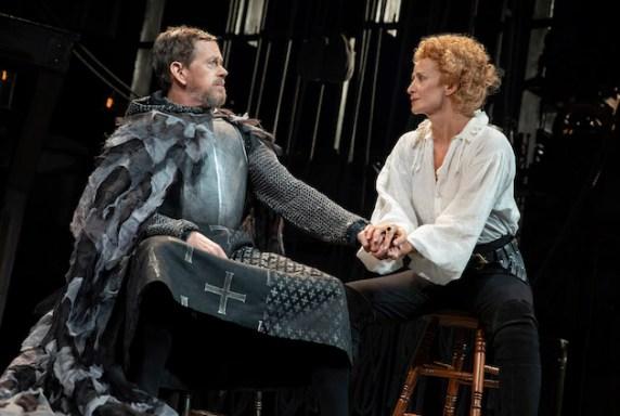Dylan Baker and Janet McTeer in Bernhardt/Hamlet