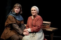 Grace Van Patten (Joan Arc) and Glenn Close (Isabelle Arc) in Mother of the Maid