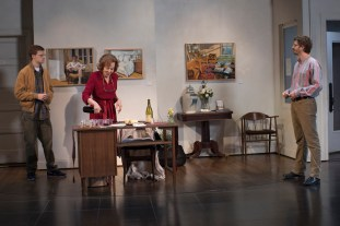 Lucas Hedges, Elaine May, Michael Cera in The Waverly Gallery by Kenneth Lonergan, directed by Lila Neugebauer.