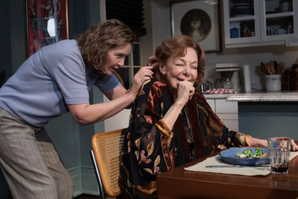 Joan Allen and Elaine May in The Waverly Gallery