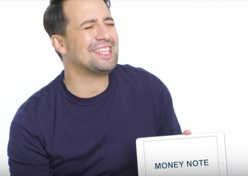 money note by Miranda
