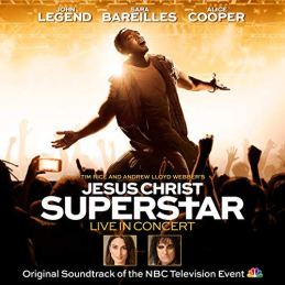 Jesus Christ Superstar Live in Concert album cover
