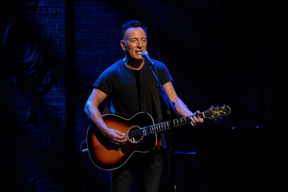 Springsteen on Broadway on Netflix: A Rock Star's Past; Broadway's Future?