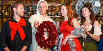 The Imbible Christmas Carol Cocktails