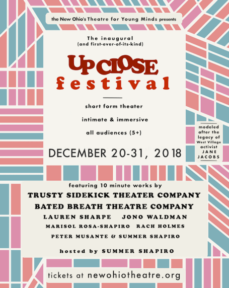 UpCloseFest poster