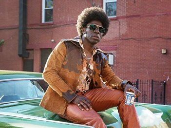 as Larry the pimp in The Deuce on HBO
