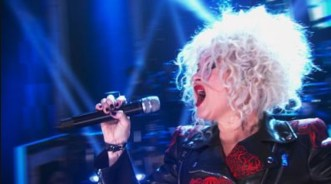 Cyndi Lauper tribute to Cher