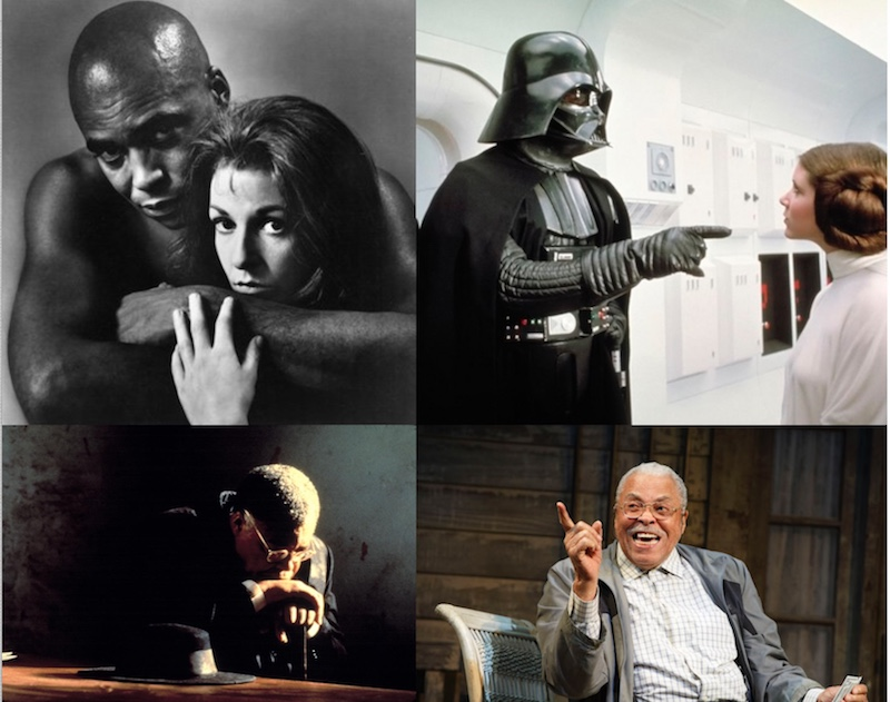 Happy 88th birthday James Earl Jones: May the Force Be With You.