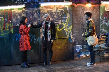 RENT: L-R: Vanessa Hudgens, Kiersey Clemons and Jordan Fisher i