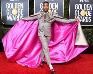 Billy Porter at the Golden Globes