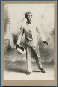 Soft shoe dancer George Primrose in blackface in 1893